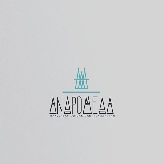 New logo for ANDROMEDA events room  #designlobby #logodesign #graphicdesigner #graphicdesign #sowlcreativestudio  #sowl #branding #logotype  #typographie  #typographyinspired  #typography  #andromeda  #creative