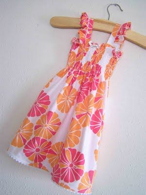 Made by Me. Shared with you.: Shirr Thing For Spring: Mini Series Day 1 : Shirring Basics and The Sun Dress