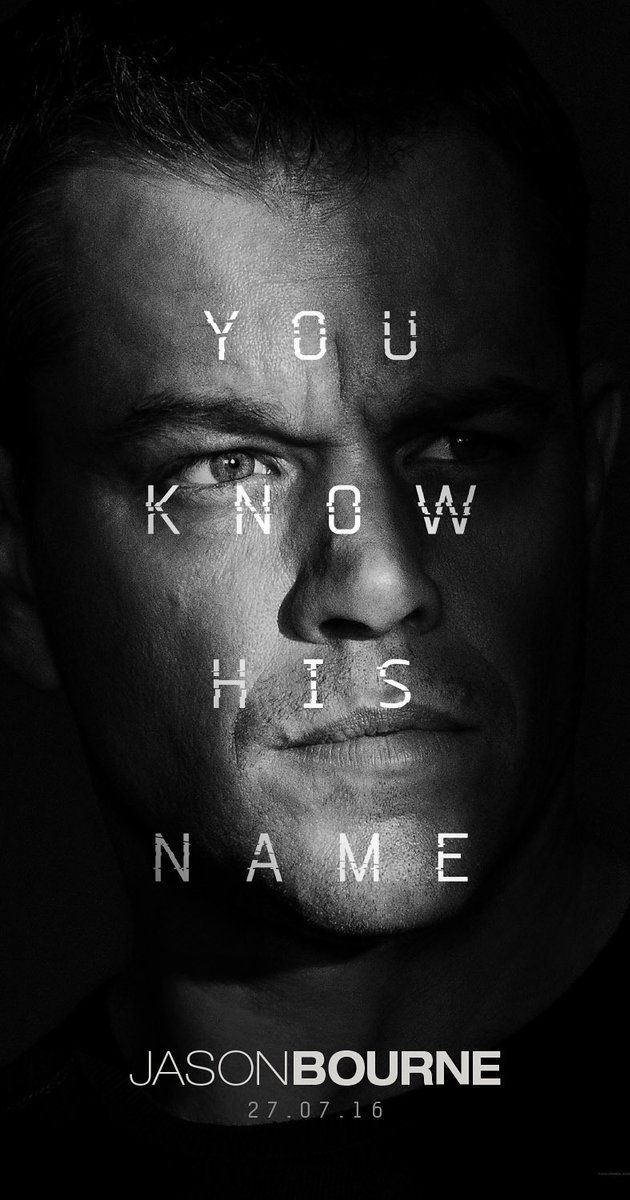 Directed by Paul Greengrass.  With Alicia Vikander, Matt Damon, Julia Stiles, Tommy Lee Jones. Jason Bourne, now remembering who he truly is, tries to uncover hidden truths about his past.