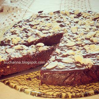 KuchAnna: Brownie bez glutenu i bez cukru