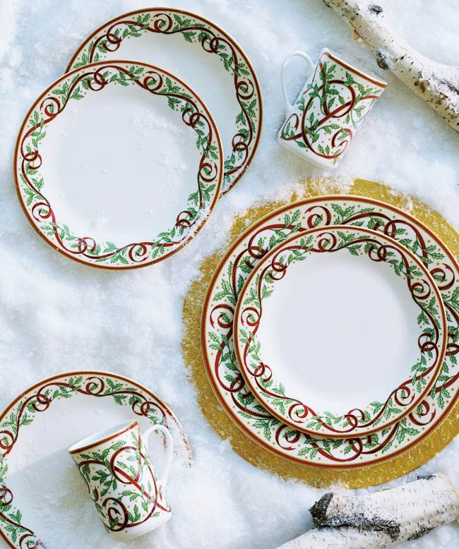 24 Best Images About Christmas China Patterns On Pinterest
