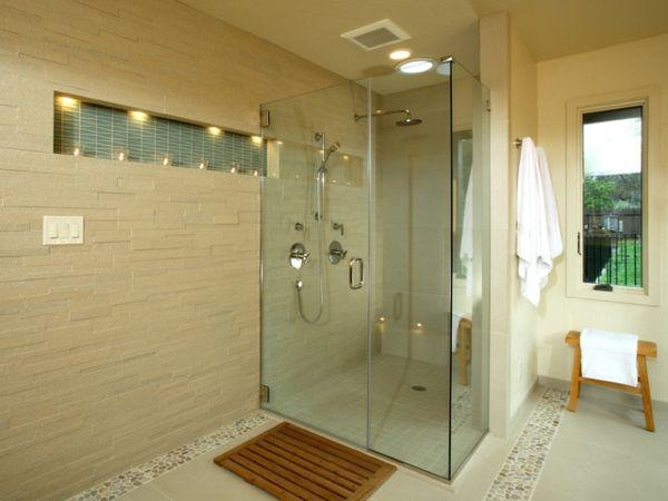 dusche glaswand statt fliesen. Black Bedroom Furniture Sets. Home Design Ideas