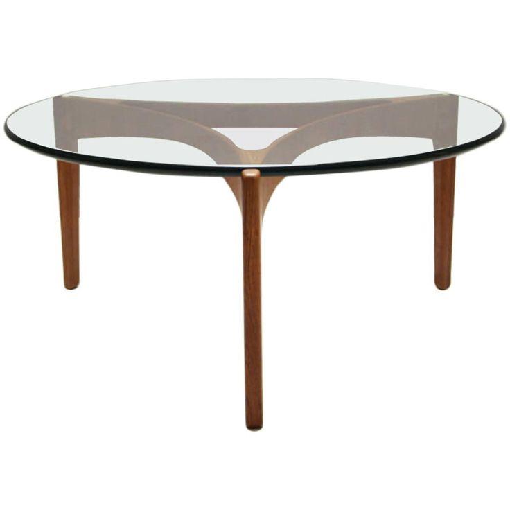Teak Coffee Table by Sven Ellekaer for Christian Linneberg, Denmark, 1962