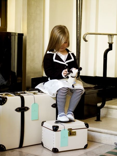 If Chanel herself did a children's wear line, it would look like this.