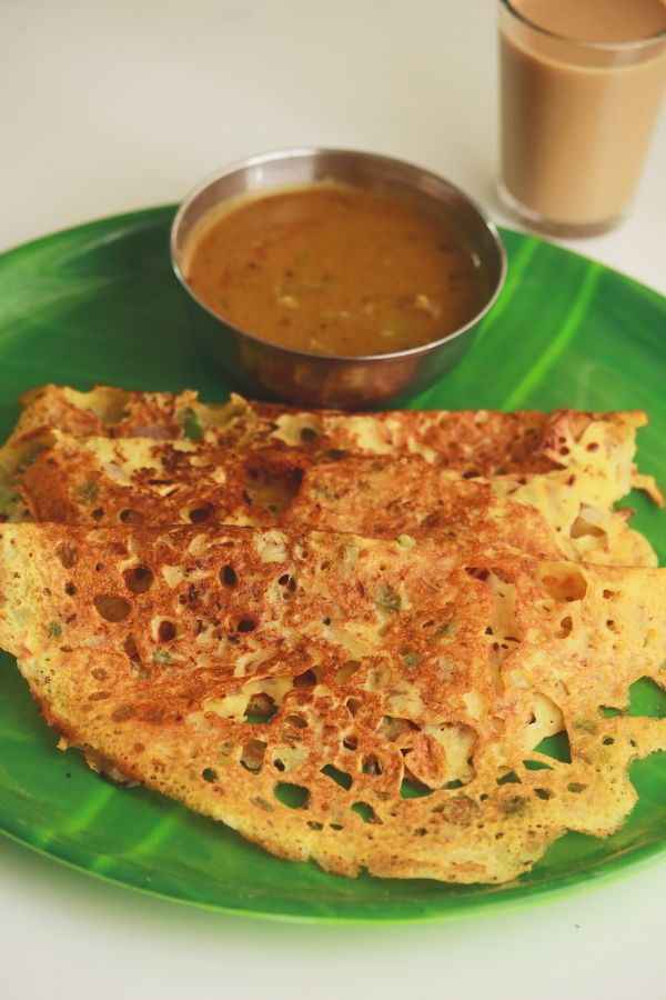 gram flour dosa - tasty and easy to make breakfast or snack  #indianfood #food…