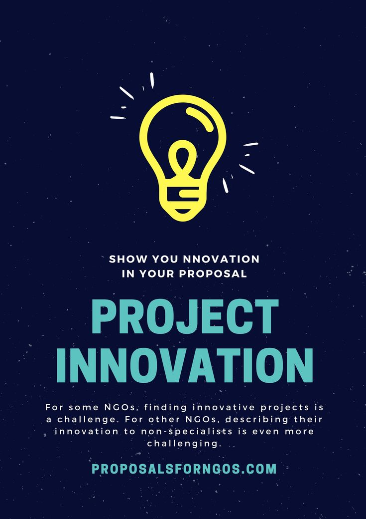Innovation is a buzzword throughout development circles. Learn the meaning of Project Innovation with examples.  #projectinnovation #proposals #proposalwriting #nonprofilt #NGO