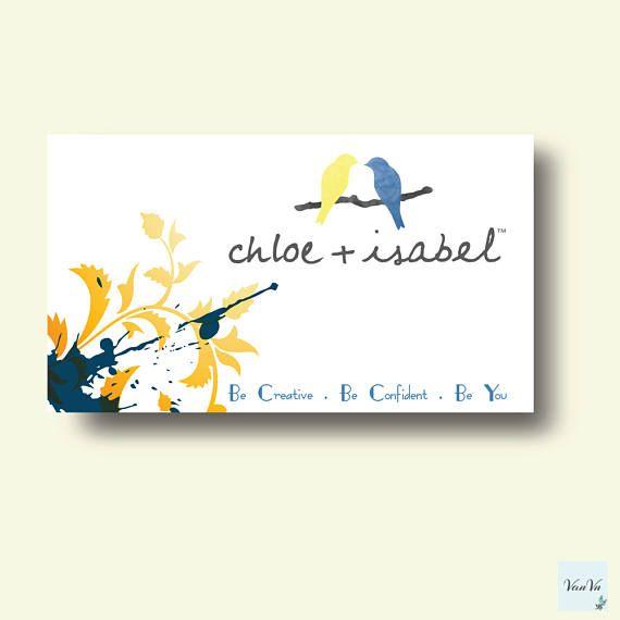 Chloe Isabel Visitenkarten Plus Chloe Und Isabel Visitenkarten Auch Chloe Business Card Holder Visitenkarte Visiten Visitenkarten Karten Visitenkarten Design