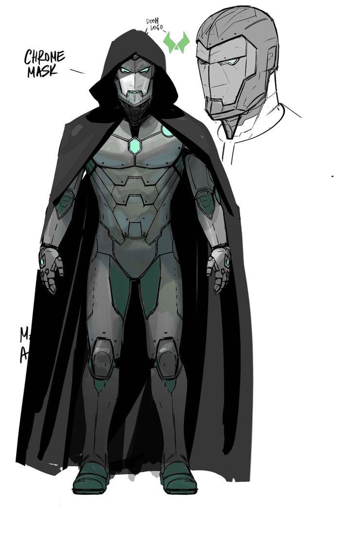 "Maleev Debuts Doctor Doom's ""Infamous Iron Man"" Armor Concept Art"