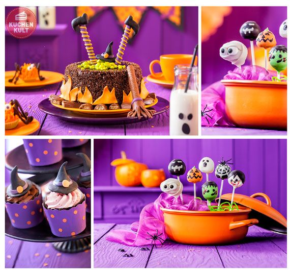 die besten 25 scary halloween kuchen ideen auf pinterest. Black Bedroom Furniture Sets. Home Design Ideas