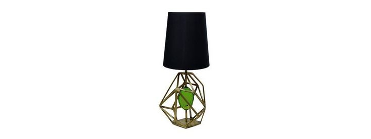 Contemporary Lighting Ideas - Gem Table Lamp by Koket @koket Armani Hotel Milano - The New Vision of Hospitality ➤ Discover more luxury lifestyle news at www.covetedition.com @covetedition #covetedmagazine @covetedmagazine #luxurylifestyle #contemporarylighting #lighting #koket