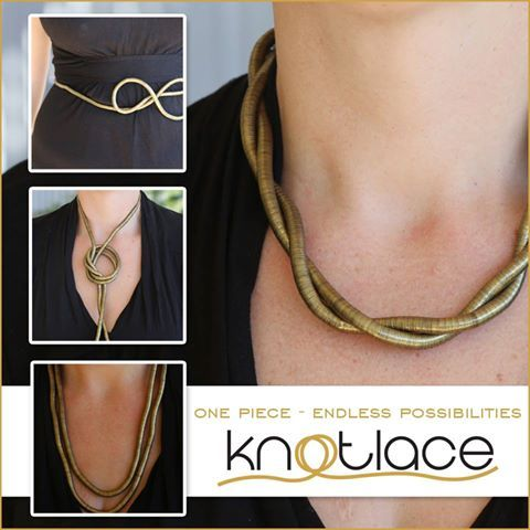Knotlace jewellery accessory gift present image