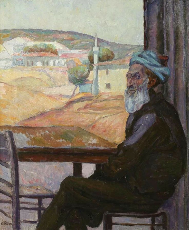 Camil Ressu - Clientul Fidel (The Faithful Client) or The One-Eyed Turk - 1913