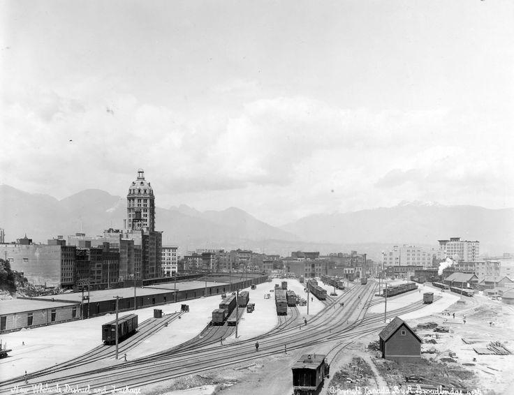 Vancouver 1913 Sun Building: Photo by R. Broadbridge.