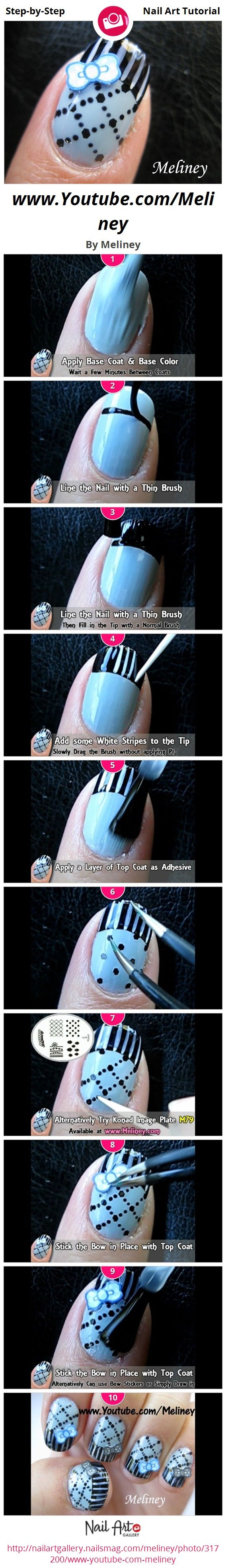 Nails by Meliney Step-by-Step Tutorial