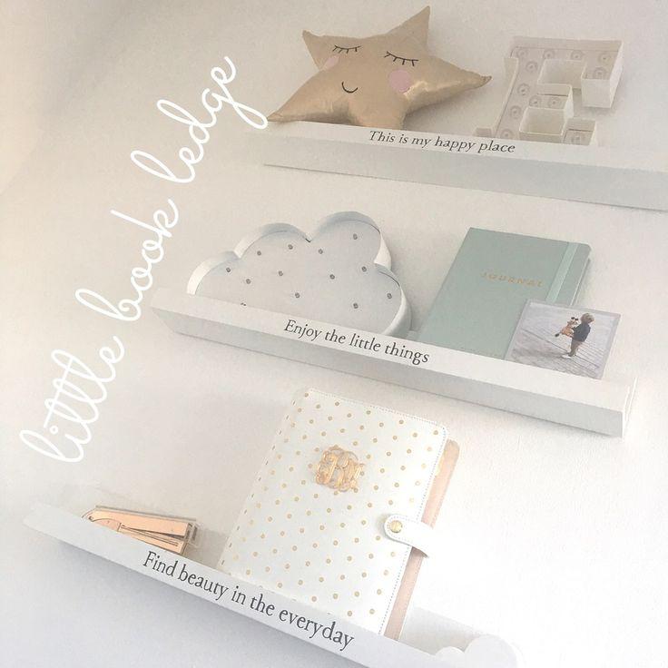 Image of Little book ledges PREORDER