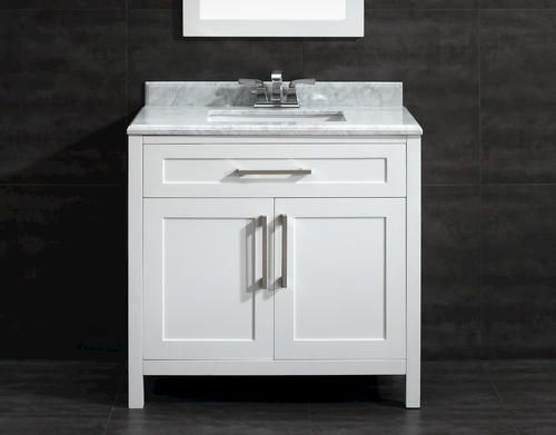 36 39 39 malibu vanity ensemble no mirror at menards mon maison pinterest woods faucets and for Bathroom vanities with tops and sinks and faucets