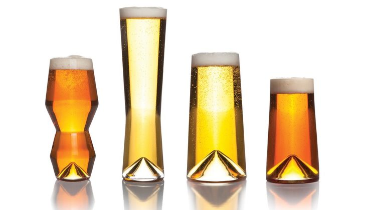 Sempli Monti-Taste Set - Four glasses specifically designed for IPA, Pilsner, Pints and 12-ounce bottles.  Enhance your beer tasting experience. #sempli
