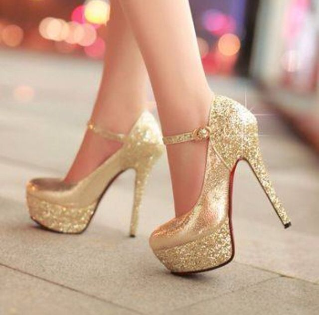 1000  ideas about White And Gold Heels on Pinterest | Gold wedding ...
