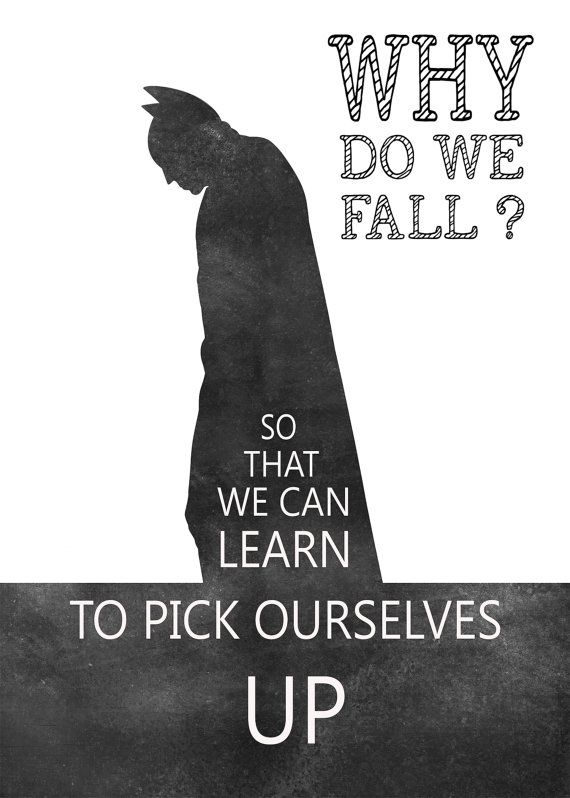 Batman Quotes Batman Print Batman Art by MotivationalTypo on Etsy