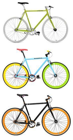Create Bikes desenvolve bicicletas que se destacam pelas suas combinações de cores.