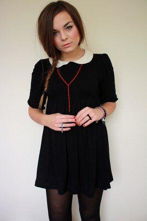 wednesday addams dress. i want oneeeee