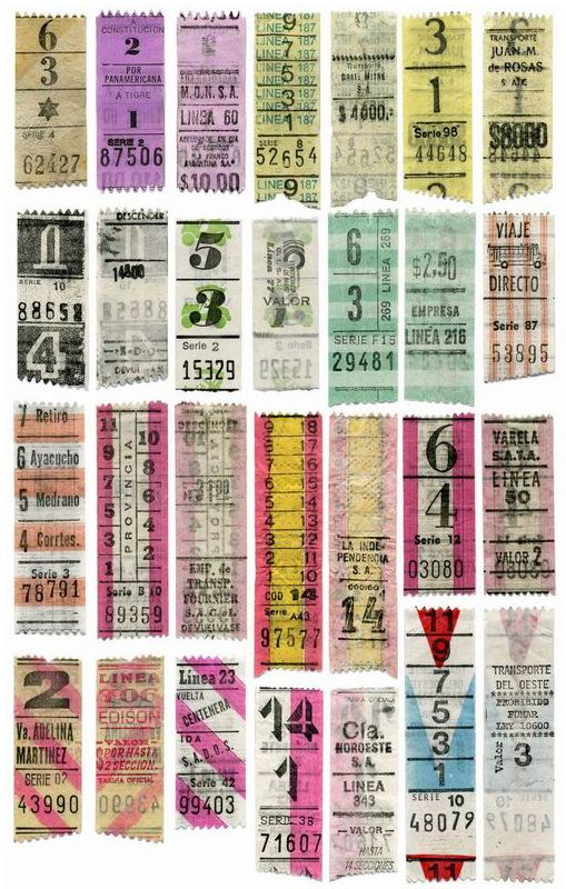 Old tickets clip art - Graphic design