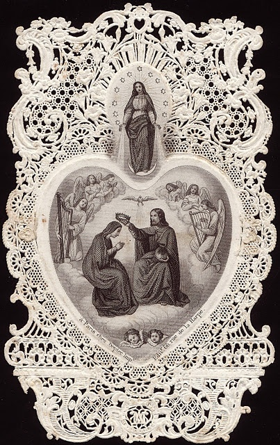 Vintage holy card...beautiful