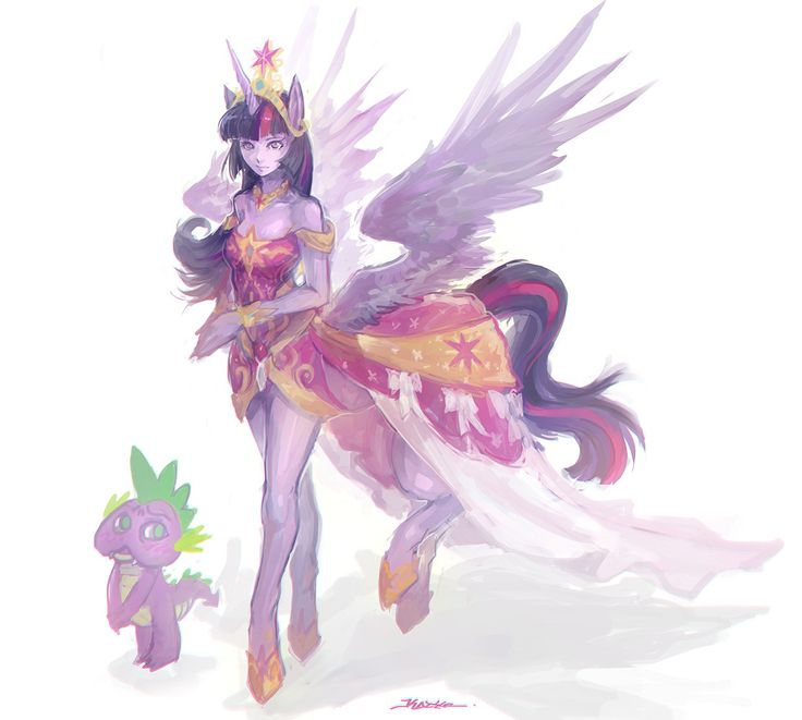 MLP twilight sparkle with Spike. I don't know what's up with Spike.