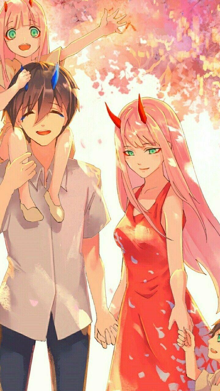 World Darling In The Franxx Anime Manga Girl