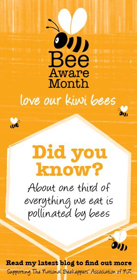 Find out more about Bee Aware Month on my blog http://www.annabel-langbein.com/annabel/blog/bee-aware-month/