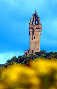 Wallace monument, Stirling. 35 minutes away...