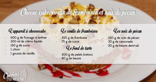 Recettes ch ri e c 39 est moi le chef france 2 recettes faire pinterest chef france - France 2 telematin recette cuisine ...