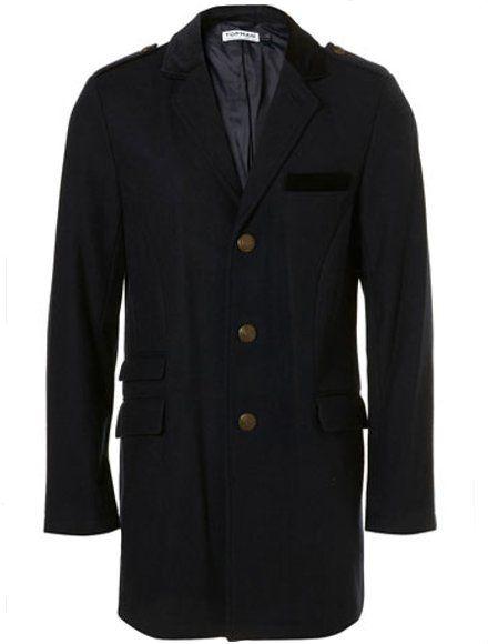 Topman, Navy Wool SB3, £40