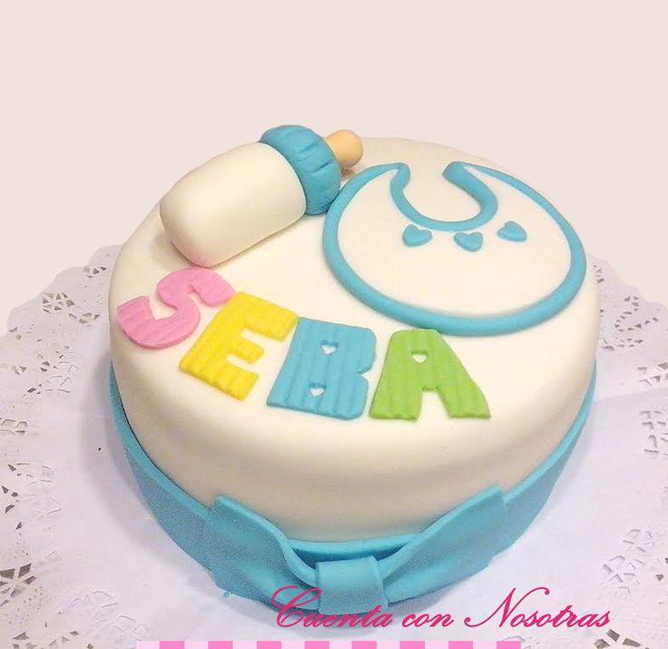 Torta Baby Shower Torta Babero Baby Shower Cake
