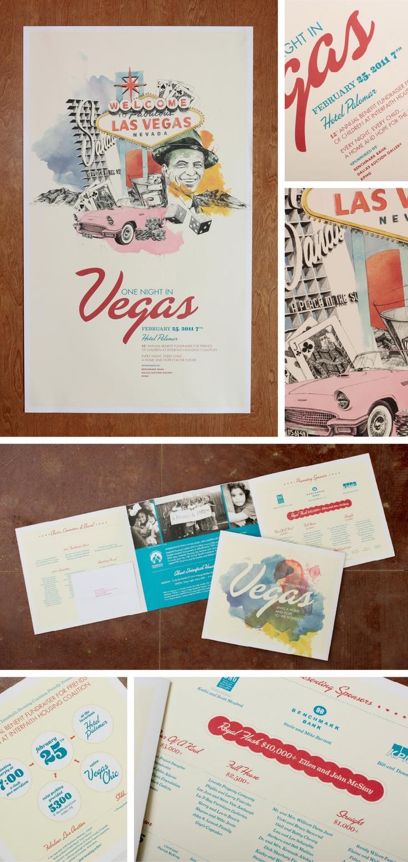 Rat Pack inspired Las Vegas print poster for