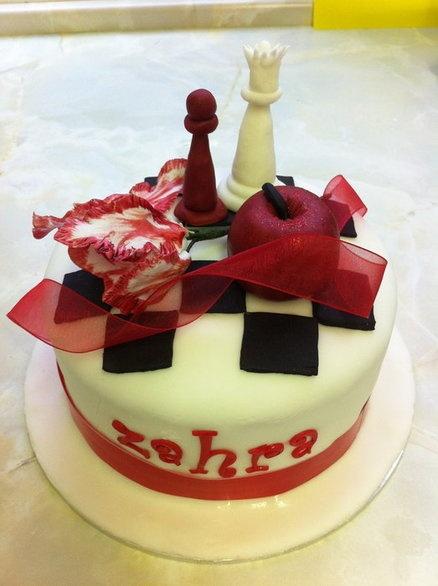 Twilight Cake - by cakeybakey @ CakesDecor.com - cake decorating website