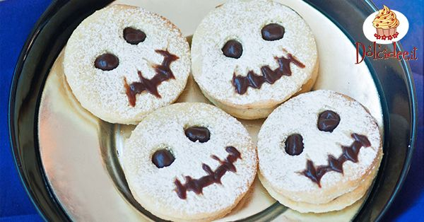 Ricetta Biscotti fantasma per Halloween