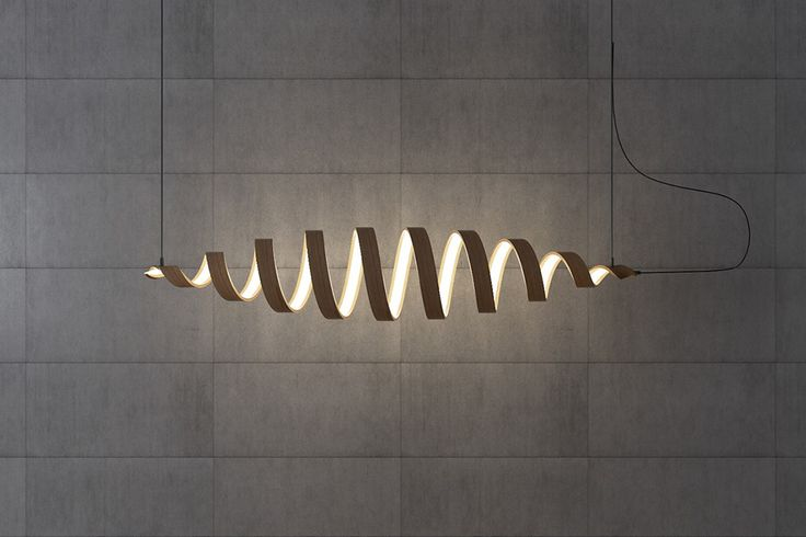 Light may travel in a straight line, but the Spiral lamp collection doesn't! This elegant series of sculptural luminaires is a literal twist on