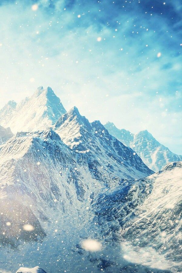 Snowy mountains nature pinterest snowy mountains and for The range wallpaper