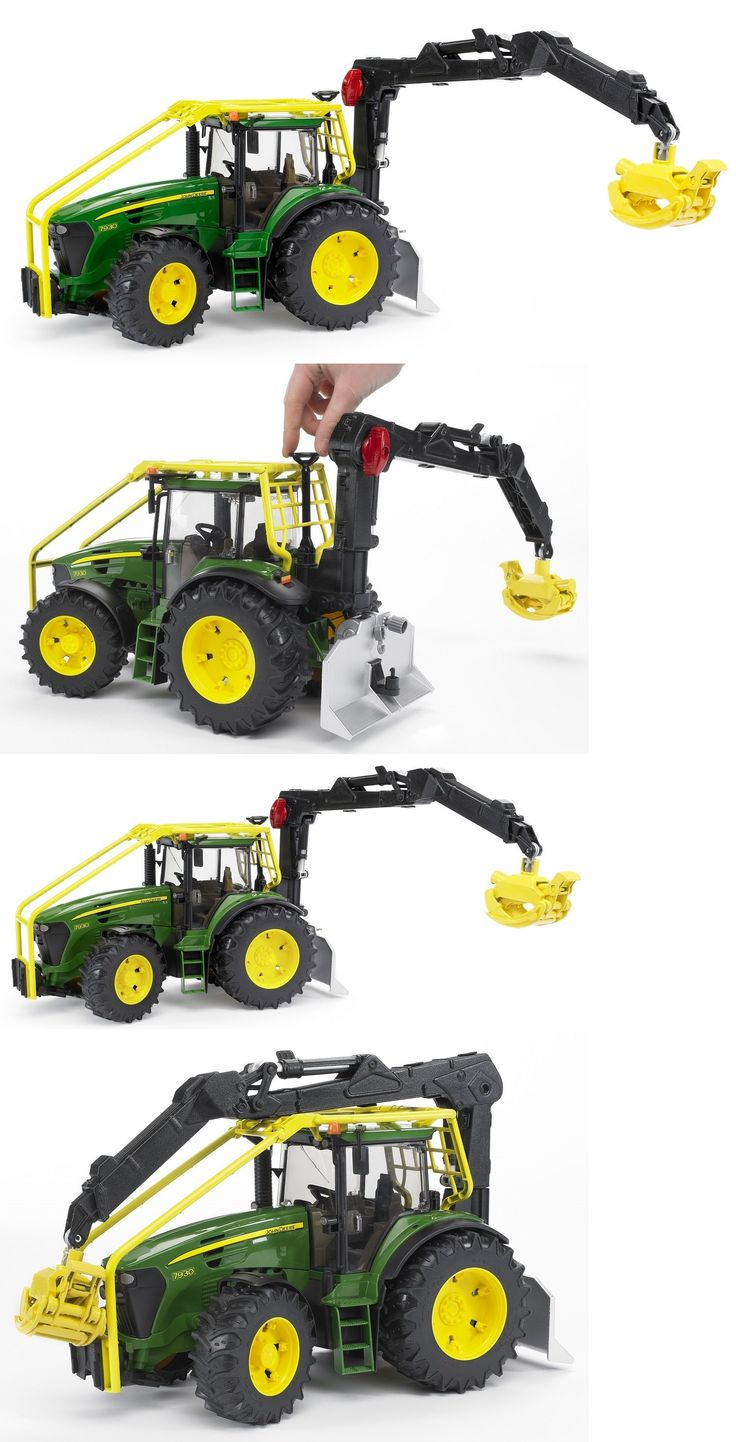 Contemporary Manufacture 156623: Bruder Toys John Deere 7930 Forestry Tractor 1 : 16 Scale 09809 New -> BUY IT NOW ONLY: $69.99 on eBay!