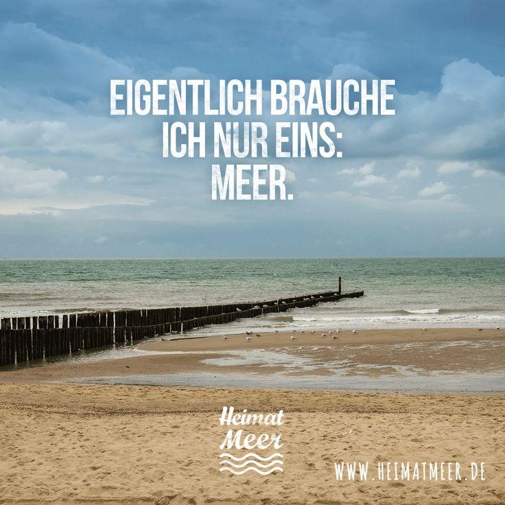 Eigentlich Brauche Ich Nur Eins: Meer. Mee(h)r Vom Meer Gibtu0027s
