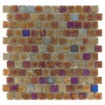 Pearlescent Glass Mosaic   Floor & Decor