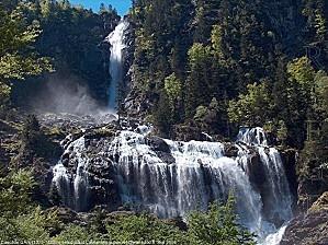 Ariège, la cascade d'Ars