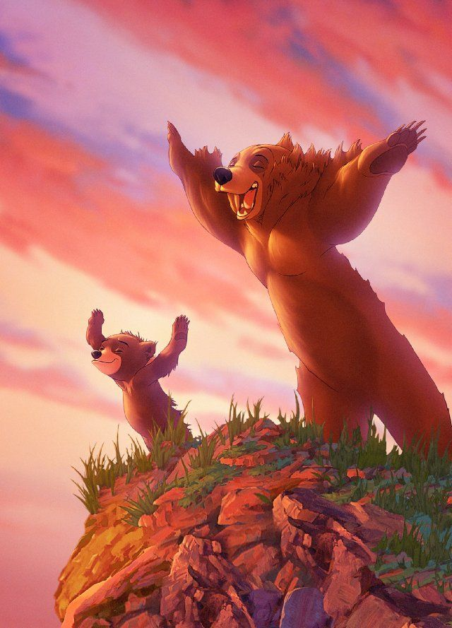 "Brother Bear is a story about a man becoming a Bear to learn how his pendent relates to him. ""The Bear of Love"". The man meets a little cub named Coda and through out the movie the man looks out for Coda. This movie is kind of like my brother and I. We look out for each other through thick and thin."