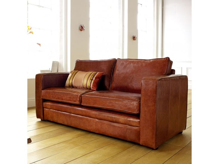 25+ Best Ideas About Small Leather Sofa On Pinterest | Leather