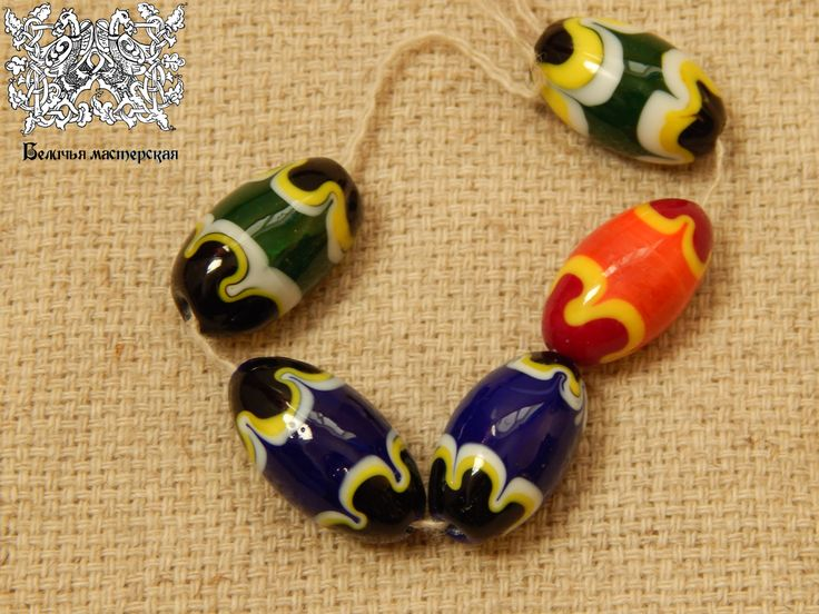 Glass beads Vjatichi breed 12-13th A.D.
