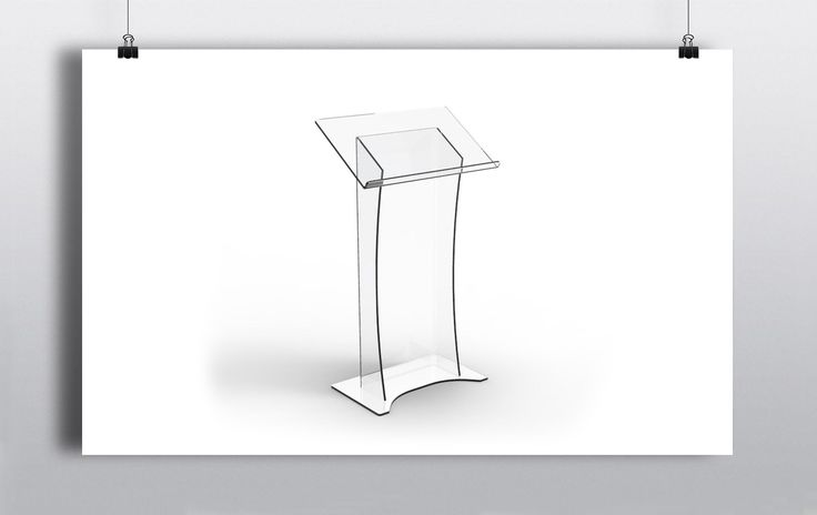 Clear Perspex Podium/Lectern. The sleek finish of this piece means that it will fit into almost any event or venue. http://www.prophouse.ie/portfolio/perspex-podium/