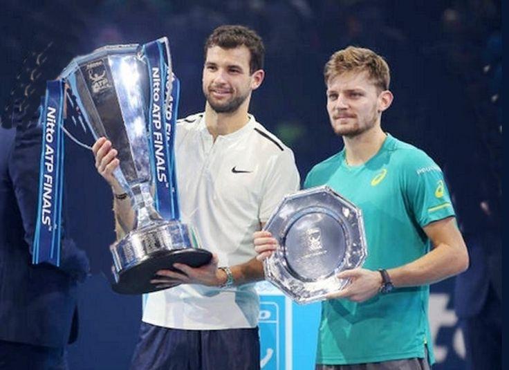 Nitto ATP Finals 2017-Grigor Dimitrov-David Goffin 7-5 4-6 6-3
