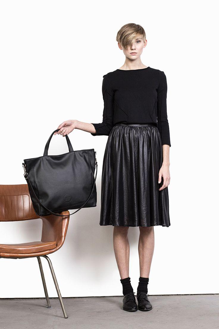 #bagsbylenka LAVA BLACK / www.bagsbylenka.com