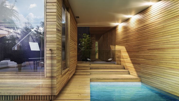 Narrabeen House - Designed by the architectural studio Choi Ropiha Fighera and Visualised by Guillaume Favre